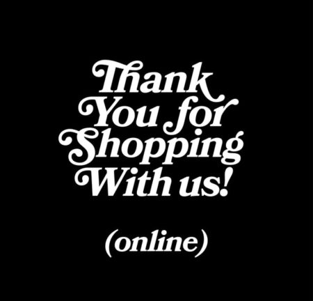 Thank you for shopping with us !