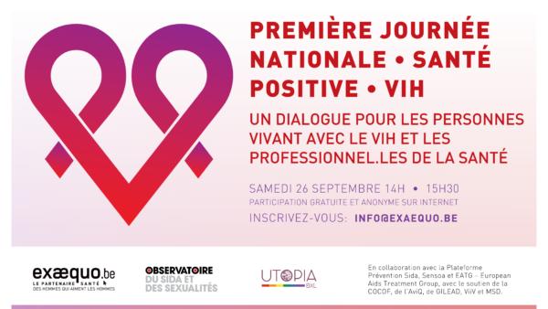 Santé Positive VIH - Journée nationale du 26 septembre 2020